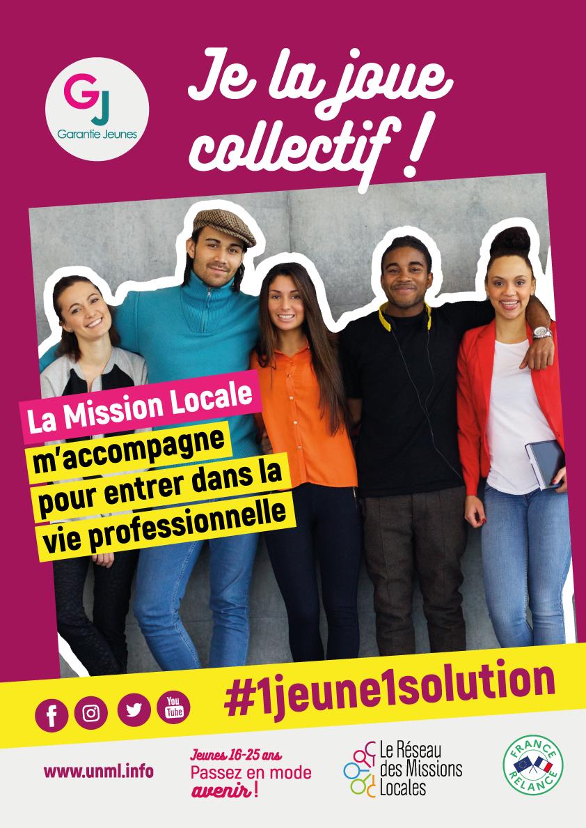#un jeune1solution et pourquoi pas le Garantie Jeunes - Contactez votre Mission Locale au 05.49.66.76.60